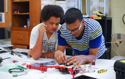 Model Aviation Club steps into the unknown