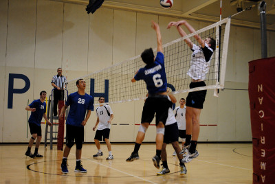 Knights spike Panthers on senior night