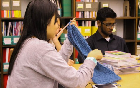 The Knitting Knights: Crafty students find a close-knit community in North Penn's newest club