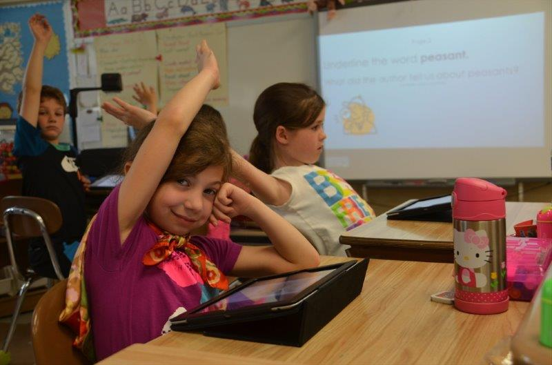Technology In Elementary Classrooms ~ The knight crier iteach with technology