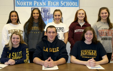 Great Eight: Eight NPHS student-athletes ink letters of intent