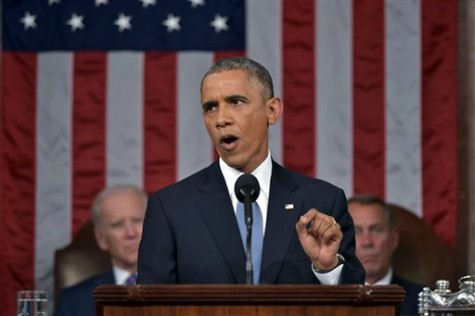 "Obama calls for ""tight-knit family"" in State of the Union"