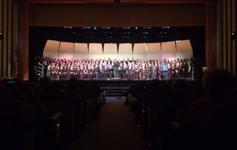 Schools gather at NPHS for the Choral Invitational Night