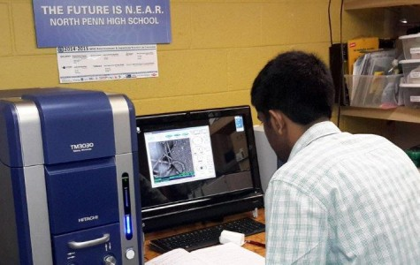 "We Have ""Vision""!  Angstrom Scientific loans scanning electron microscope to North Penn"