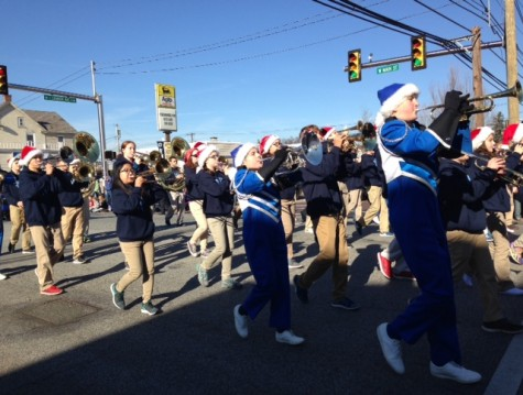 North Penn High School represented in annual Mardi Gras parade