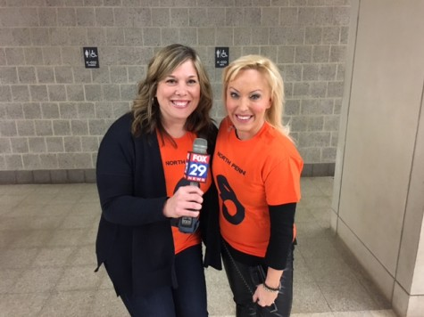 FOX broadcasts live from NPHS on McManus Day