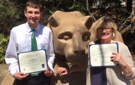NPHS Junior Carl Hamilton III named a finalist in Penn State Essay Contest