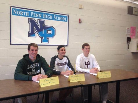 Onward and upward: NP winter sports athletes ink letters