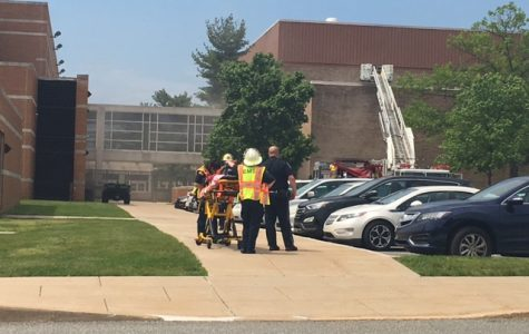 Fire forces evacuation of NPHS