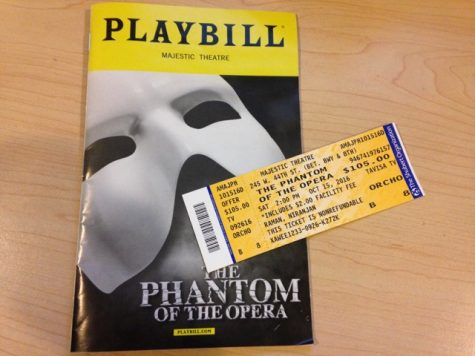 Reviewing Broadway performance of The Phantom of the Opera