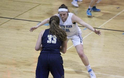 Huber, Carangi pace Knights in Playoff rout