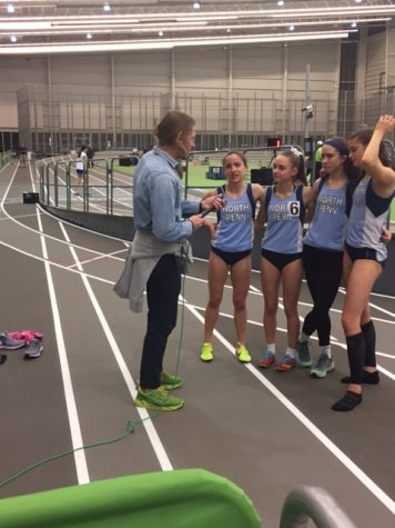 Girls 3200 meter relay ranked number one in country
