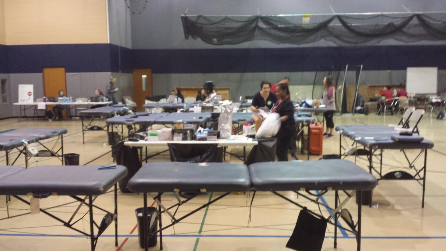 On Friday, May 12th, NPHS hosted the American Red Cross for the third blood drive of the year, organized by the National Honor Society.