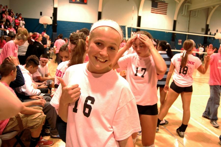 Maidens Dig Pink for a Cause