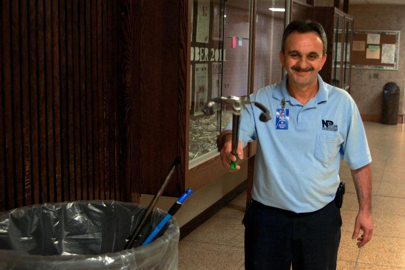 Gino Santoro The Man Behind The Mop The Knight Crier