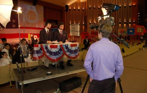 Mock Convention Transforms NPHS on Day One