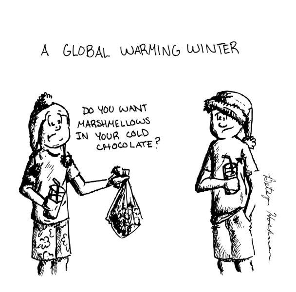 satire global warming