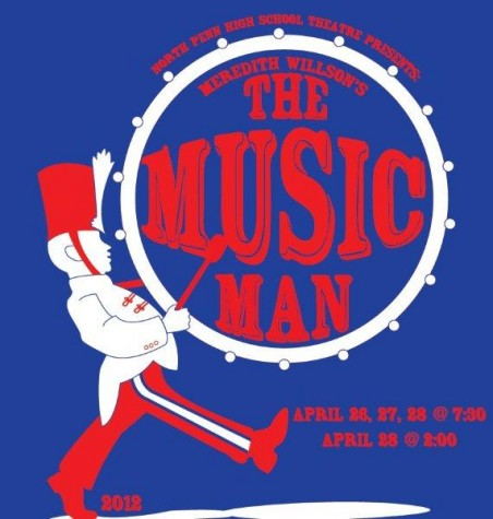 Spring Musical, The Music Man, Less Than a Month Away