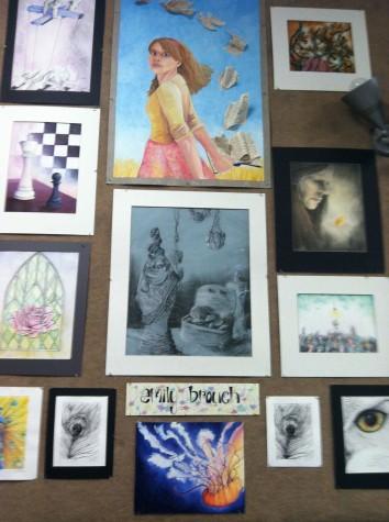 AP Studio Art Students Showcase Their Talents in Annual Art Show