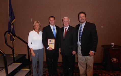 George Shipp Wins Prestigous State Youth of the Year Award