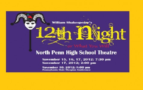 Twelfth Night Takes Center Stage Beginning November 15th
