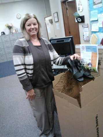 Worn is Not Worn Out: NPHS Holds First Shoe Drive