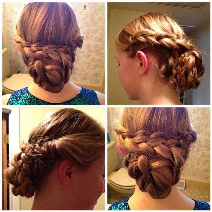 Braids of Glory-Junior Rebecca Rosenblatt is North Penn\'s Prom Hair ...