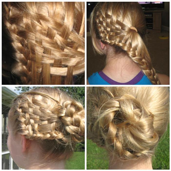Braids Of Glory Junior Rebecca Rosenblatt Is North Penns Prom Hair