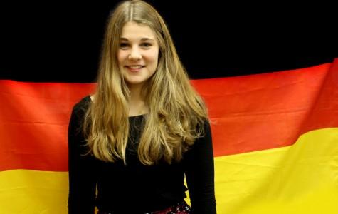 German exchange student Zoe Koenig enjoying American experience
