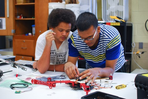 Engineering Academy student gives back