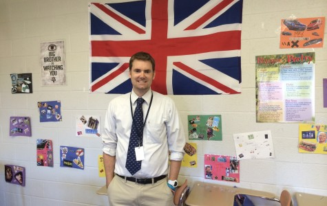 Mr. Jeff Miller returns to North Penn with the art of British Literature