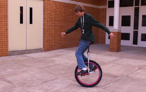 """Unicycle Kid"" unmasked: Meet Kevin Birt, the one-wheeled wonder"
