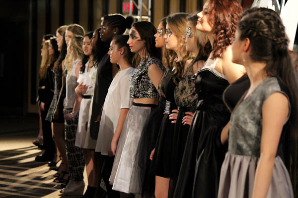 Fashion Show spotlights student designers' creativity on the