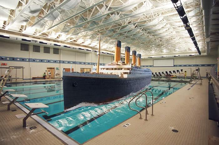 Titanic the musical venue changed to rick carroll - Was the titanic filmed in a swimming pool ...