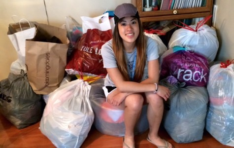 Senior Yvonne Pham spearheads clothing drive