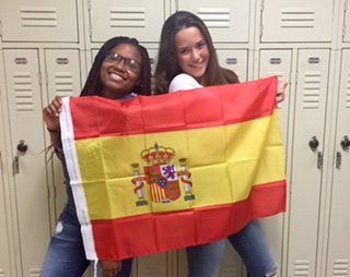 Spiking her way to the USA – Spanish exchange student Jimena Gallo