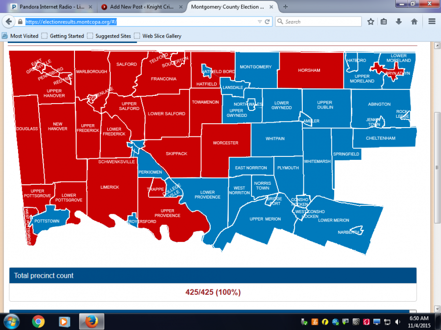 Montgomery+county+voter+map+according+to+election+results+from+Montgomery+county.+
