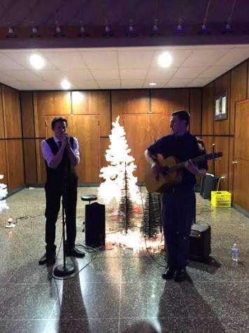 NPHS Senior Mikey Oscar finds talent on stage