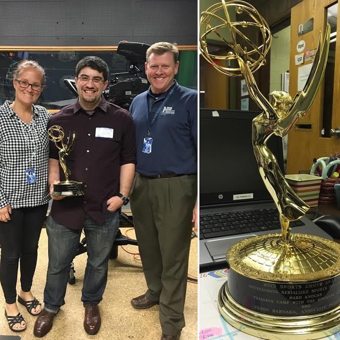 Alumni Spotlight: Jason Barnadas hardwork pays off in Emmy