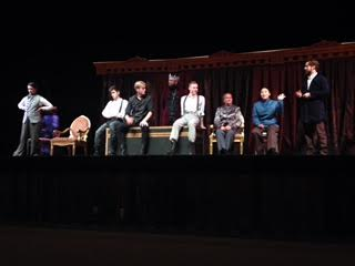 The Pennsylvania Shakespeare Festival cast answers audiences questions.