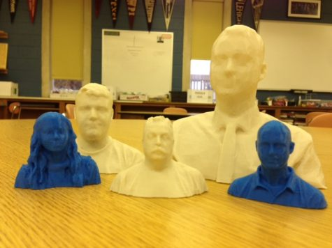 3D prints are just the latest addition to the array of things possible in the NPHS Tech Ed Dept.