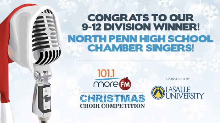 Chamber Singers win 101.1FMs Christmas Choir Competition