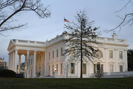 The sun sets on the White House in Washington, Thursday, Jan. 19, 2017, on President Barack Obama's final full day as President. (AP Photo/Susan Walsh)