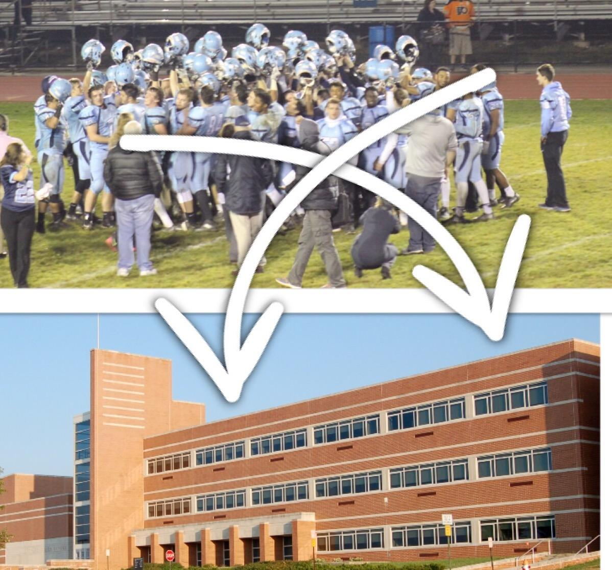 RAISIN' THE ROOF! North Penn High School has announced it will be cutting the football program and re-allocating that money for a retractable roof on the high school
