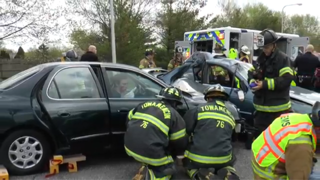 Seniors educated about effects of DUI in two-day reenactment ...