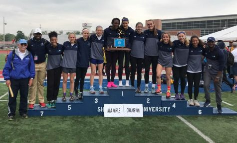 North Penn girls win T&F State Championship