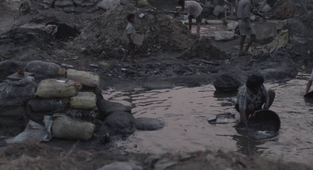 Lion illustrates the reality of poverty for child, Saroo, and many more of the underprivileged as they try to live off the dirty and dangerous streets if India.
