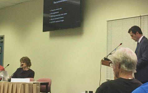 Skrocki presents Real Estate Tax Rebate Program to School Board