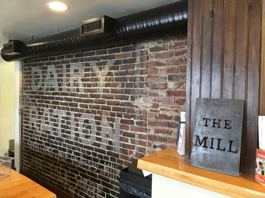 The Mill takes a historic setting and makes it a restaurant atmosphere.