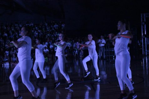 Blacklight Pep Rally sets the tone for Homecoming